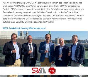 SRV wird Teil der AVS
