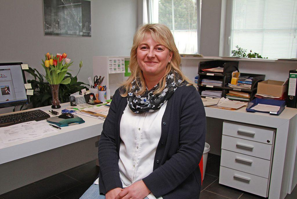 SRV-Mitarbeiterin Ines Uhlemann (Foto: Markus M. Mey)