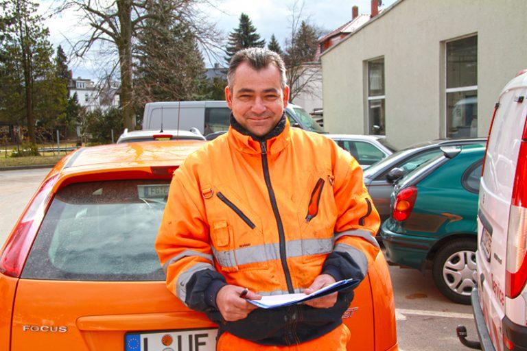 SRV-Mitarbeiter Thomas Wunderlich